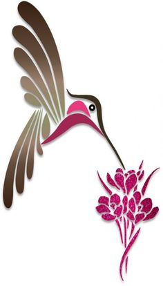 Humming Birds – Illustration – Art & Islamic Graphics Humming Birds – Illustration – Art & Islamic Graphics This image. Vogel Silhouette, Bird Silhouette Art, Silhouette Painting, Bird Stencil, Stencil Art, Stencil Designs, Stencil Patterns, Freundin Tattoos, Bird Illustration
