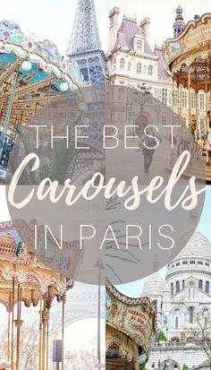 Best carousels in Paris, France