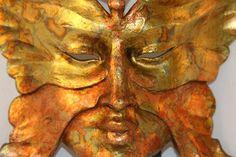 Masquerade Venetian Mask   Gold Butterfly by VenetianArtiquity, $105.00