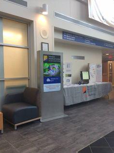 Digital signage installation at Atlantic Health System hospitals
