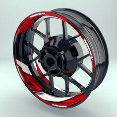 REPARTO CORSE Rim Sticker Decal Set for two wheels