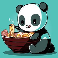 Ramen Panda | Funny, cute & nerdy shirts