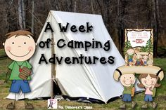 Camp Themed End of the Year Unit- End of the year planning all set! This camp themed unit is jam packed with fun and academic camp themed activities! $