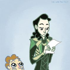 Loki and the Loon part 2  Aaah, poor Tom is so nervous!
