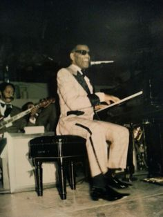 Won ticket from KKDA radio station 1973 to see Ray Charles, Tyrone Davis and The Ohio Players. Actually got to shake his hand. Tyrone Davis, Ohio Players, Otis Redding, Van Morrison, Georgia On My Mind, Ray Charles, Life Is A Journey, Stevie Wonder, His Hands
