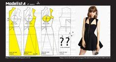 ModelistA: BLACK DRESS