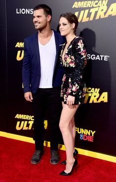 Pin for Later: Kristen Stewart et Taylor Lautner Réunis Sur le Tapis Rouge