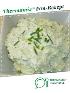 Frischkäseaufstrich Cream cheese spread from Thermomix recipe development. A Thermomix ® recipe from the Sauces / Dips / Spreads category www.de, the Thermomix® Community. Quick Dessert Recipes, Baby Food Recipes, Salad Recipes, Avocado Recipes, Avocado Dessert, Cream Cheese Spreads, Cream Cheese Rolls, Avocado Toast, Avocado Salad