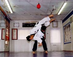 Awesome Hapkido throw...wow!