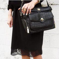 #total_black #fashion #style #editastale
