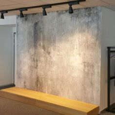 Weather and time has aged this concrete wall to imperfection. Great in almost any space and always on trend!