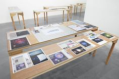 wolfgang tillmans exhibition tables - Google Search
