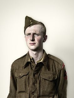 Jim Naughten -  Young Solider (2008)