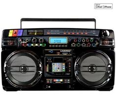 Lasonic Electronics High Performance Portable Music System $138.44. So cool! I would love one of these.