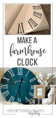 Learn how to make this DIY Roman Numeral Clock fir your home! Learn how to make this DIY Roman Numeral Clock fir your home! Source by handmadehavenn The post Learn how to make this DIY Roman Numeral Clock fir your home! appeared first on My Art My Home. Diy Organizer, Easy Woodworking Projects, Popular Woodworking, Woodworking Furniture, Learn Woodworking, Crafts For Teens To Make, Diy And Crafts, Diy Videos, Diy Furniture Projects