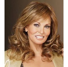 Always Wig - Curl it full and fabulous or iron it stick-straight. This silhouette of long, luxurious layers arrives curly but withTru2Life®fiber your styling options are limitless! Find this style & more @ thewigcompany.com