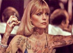 Cheyenne Randall es un artista afincado en Seattle, ha creado hecha compras Tatuajes, un blog Tumblr donde él se imagina lo que las celebridades se vería como si tenían tatuajes. Él usó photoshop para crear esta impresionante serie de fotos únicas.