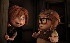 A favorite reader of ours, Joe P., sent us in these seven awesome new images from Pixar's next adventure Up, and we've since come to find out that they originated from a little Pixar fansite called… Up Pixar, Disney Pixar Up, Pixar Movies, Disney Movies, Disney Characters, Animation Movies, Disney Cartoons, Walt Disney, Disney Magic