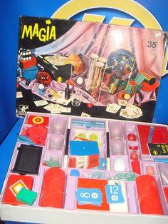 Juego de mesa MAGIA BORRAS vintage 35 buen estado DESCATALOGADO