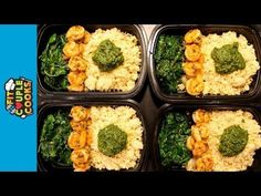 (1) How to LOW CARB Meal Prep - Ep. 18 - SHRIMP - YouTube