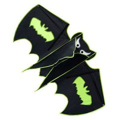 Kite- Batman with Best Quality by Nicely Home- Cute Design for Children- Superb Flyer- Large Size- Easy to Assemble, Launch & Fly- Perfect for Outdoor Activities- Built To Last
