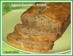 Healthy Agave Zucchini Bread ~ #GlutenFree, #DairyFree and with #EggFree Option