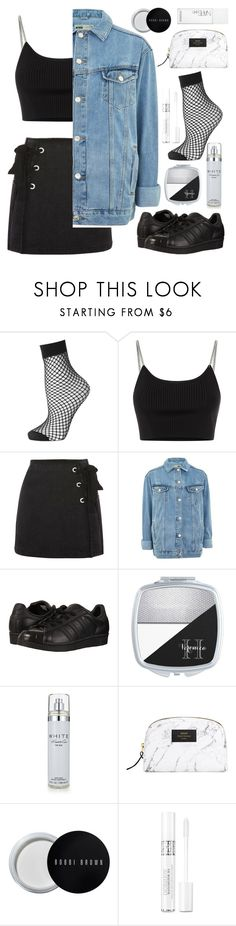 """""""Basics"""" by heythatsalya ❤ liked on Polyvore featuring Topshop, Alexander Wang, adidas Originals, Kenneth Cole, Bobbi Brown Cosmetics, Christian Dior and NARS Cosmetics"""