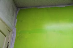 80's Party Room - first green coat - definitely not great
