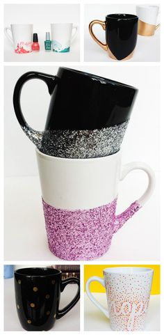 10-Minute Mugs: 7 Easy DIY Mug Tutorials