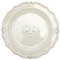 Country French Decorative Plate traditional dinnerware. See more. Fleur De Lis Ceramic Platter 14\  X 1.5\  depth Raised design Ceranima Home is  sc 1 st  Pinterest & Country French Decorative Plate traditional dinnerware | French ...