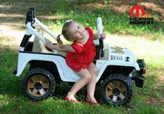 Daisy Duke's Jeep. If I have a little girl some day, she is getting one of these