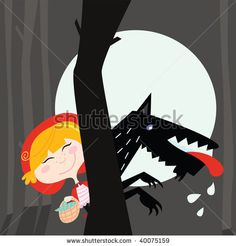 little red riding hood wolf - Google Search