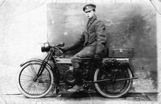 military motorcycles of the early 20th century