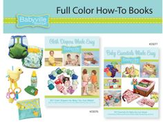 DRITZBabyville Diapers Made Easy Pattern Book by heartsandhome, $7.00
