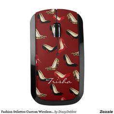 Fashion Stilettos Custom Wireless Mouse