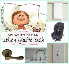 The Flu and You ~ What to clean when you're sick - Ask Anna
