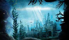 水中の失われた都市 ベクトル