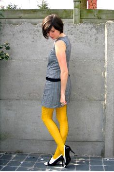 i want yellow tights.