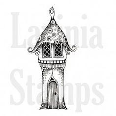 Lavinia clear stamp Harietta's House
