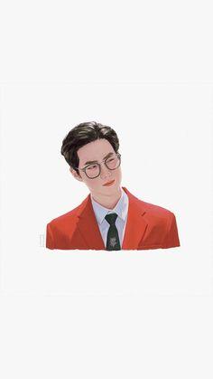 Kpop Exo, Suho Exo, Exo Monster, Exo Fan Art, Cosmopolitan Magazine, Instyle Magazine, Anime Life, Kpop Fanart, 3d Character