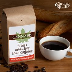 Cannabis is less addictive than caffeine
