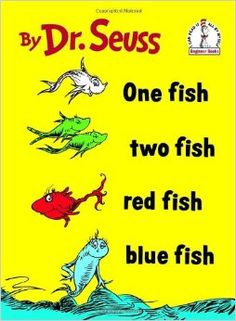 One Fish Two Fish Red Fish Blue Fish (I Can Read It All by Myself): Dr. Seuss, Theodor Seuss Geisel: 0038332269994: Amazon.com: Books