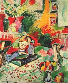 Henri Matisse - Interior With a Girl