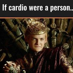 If Cardio Were A Person... #gymhumor #gymlife #cardio