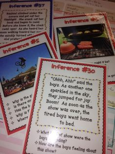 4th Grade Frolics: Five for Friday! Making Inferences and CRASH!