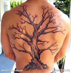 Дерево В Треугольнике Тату Эскиз