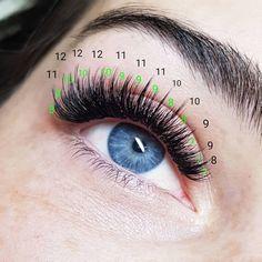 Find out about beauty & makeup Wispy Eyelashes, Perfect Eyelashes, Big Lashes, Longer Eyelashes, Natural Fake Eyelashes, Eyelash Extensions Styles, Volume Lash Extensions, Eyelash Salon, Beauty Lash