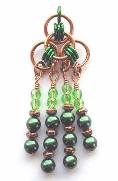Celic earrings from Beadsisters