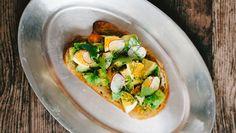 Sour dough avocado toast