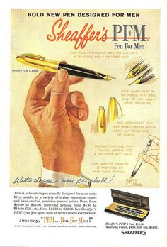 old pen ad- elements and principles include- line, shape, form, color, repetition, movement, emphasis
